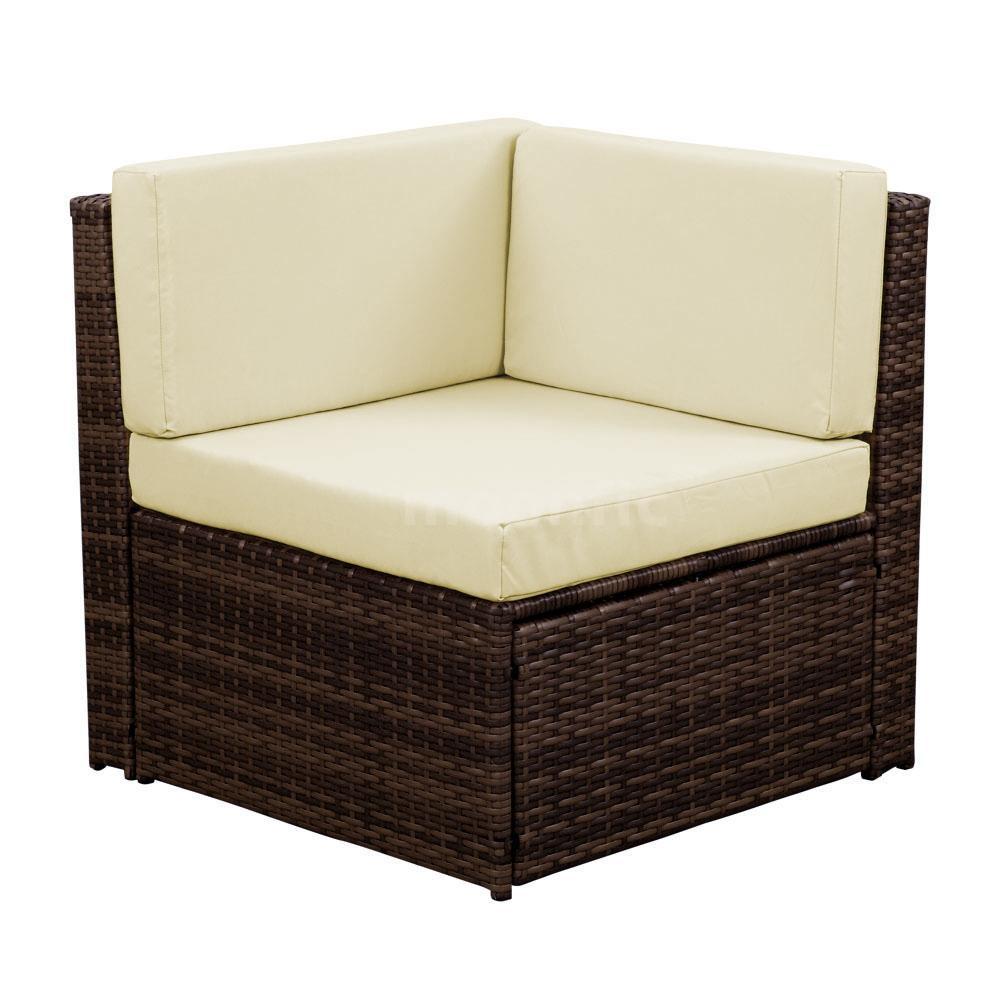 Rattan Garden Furniture Groupon roma outdoor rattan garden furniture - patio ideas